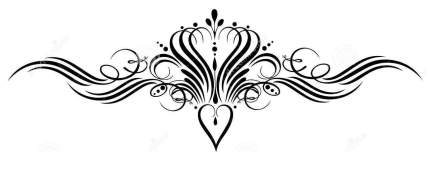 calligraphy-crown-heart-vintage-design-element-33576066